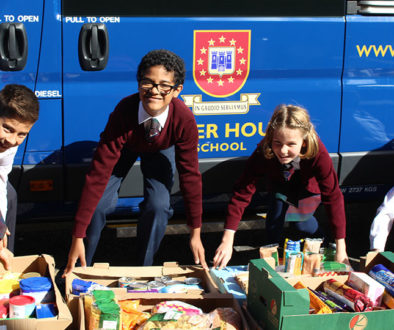 Oliver House School donates all Harvest Festival food to Wandsworth Foodbank